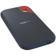 "Внешний SSD-накопитель 2TB SanDisk Extreme Portable SDSSDE60-2T00-G25, IP55, USB 3.1 Gen 2 Type-C, USB, 2.5"", Black"