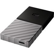 Внешний SSD-накопитель 512GB WD MY Passport WDBKVX5120PSL-WESN, USB 3.1 Gen 2 Type-C, USB, M.2, Black-Grey
