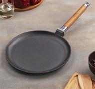 Сковорода блинная 24 см, съемная ручка