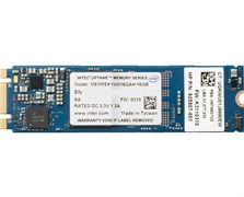 SSD-накопитель 16GB Intel Optane Memory M10 MEMPEK1J016GAH, 3D XPoint, M.2 2280 PCIe 1.3 NVMe 3.0 x2, OEM