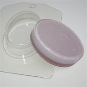 """Пластиковая форма для мыла """"Овал мини"""""""